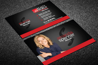 Realty World Real Estate Business Cards Free Shipping